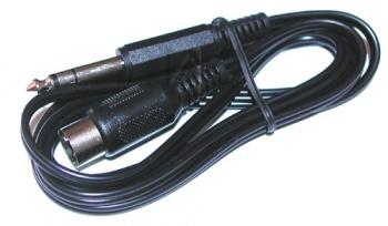 КАБЕЛ 6.35mm PLUG-5 DIN PLUG