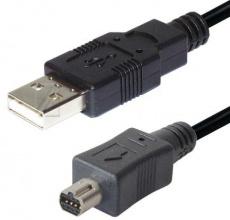 КАБЕЛ USB TYP A-STECKER/MINI USB 3m