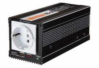 ИНВЕРТОР 24-220V 300W USB 5V