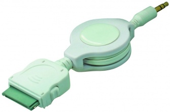 ЕЛ 3.5mm PLUG-Apple Dock PLUG 0.75M