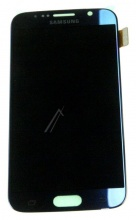 LCD PANEL + TOUCH SCREEN S6 BLACK ORIGINAL