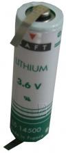 БАТЕРИЯ 3,6V 2600MAH SAFT 1/2A LITHIUM