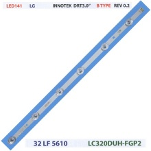 "LED ПОДСВЕТКА STRIP LG Innotek DRT 3.0 32"" TYPE B 6 LED"
