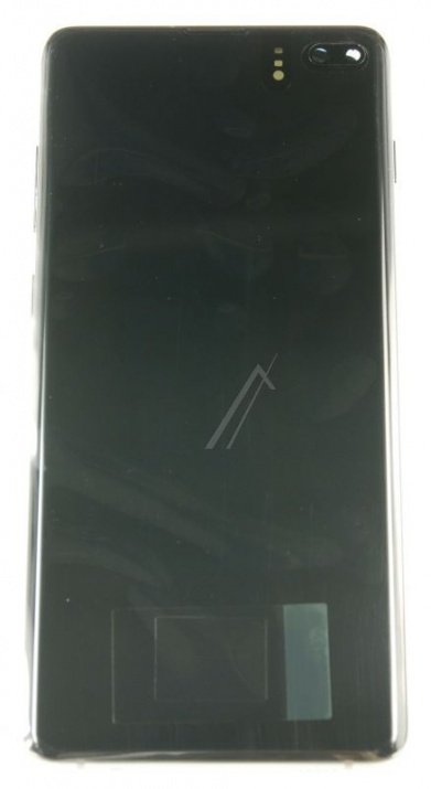 LCD + TOUCH FULLSET GALAXY S10 PLUS (SM-G975F), BLACK